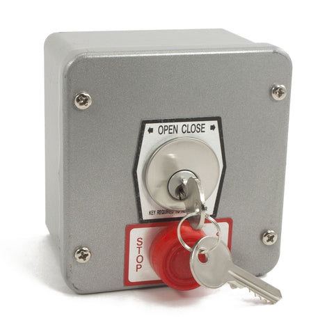 1KXS Tamperproof Exterior Key Switch w/ Stop Button