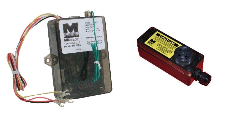 Miller Edge Audible Alarm Transmitter And Receiver Combo