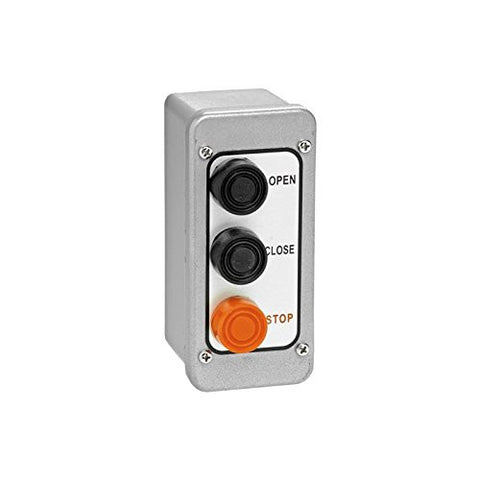 PBT-3 Open/Close/Stop Exterior Control Station (Metal)