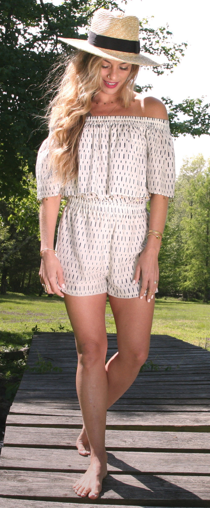 off-shoulder-romper-boho
