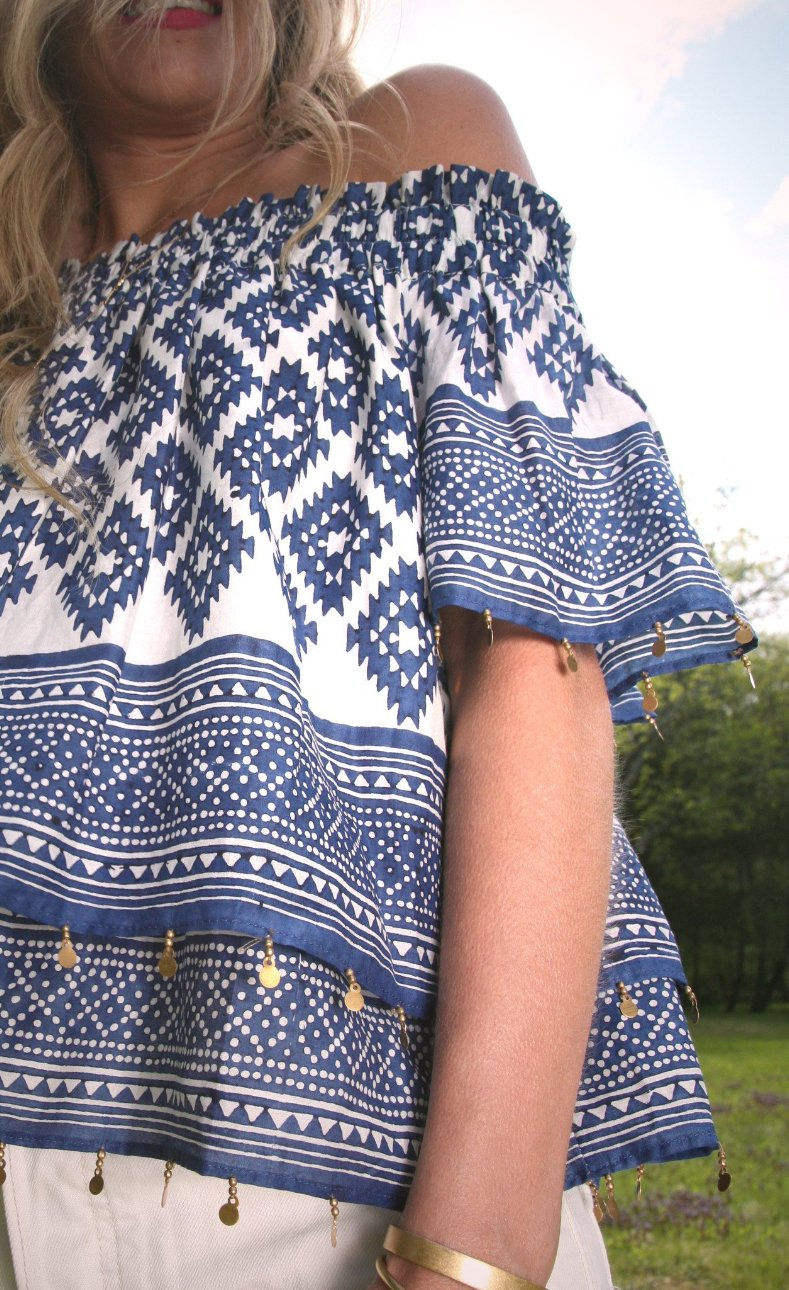 off-shoulder-top-blockprint-tribal-boho-beading