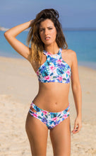 Load image into Gallery viewer, CANTIK BIKINI TOP FRONT - Blue Lagoon