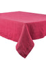 Harmony - Nappe en lin lavé Nais rose framboisine - Home Beddings and Curtains
