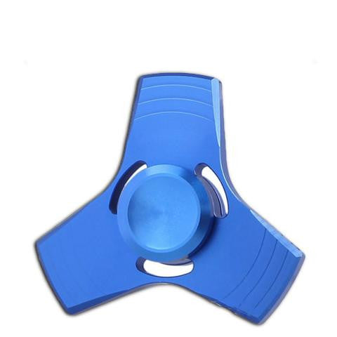 best hand spinner blue metallic