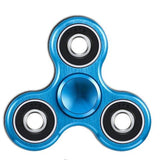hand spinner blue metallic with the best bearing