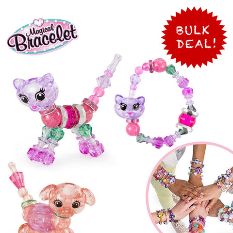 Magic Bracelet Twisty animal pets in Bulk