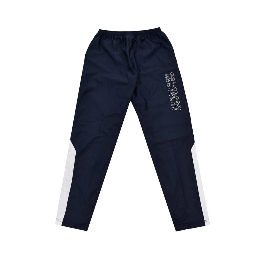 """5xP"" NAVY TRACK PANTS - The Letter Bet"