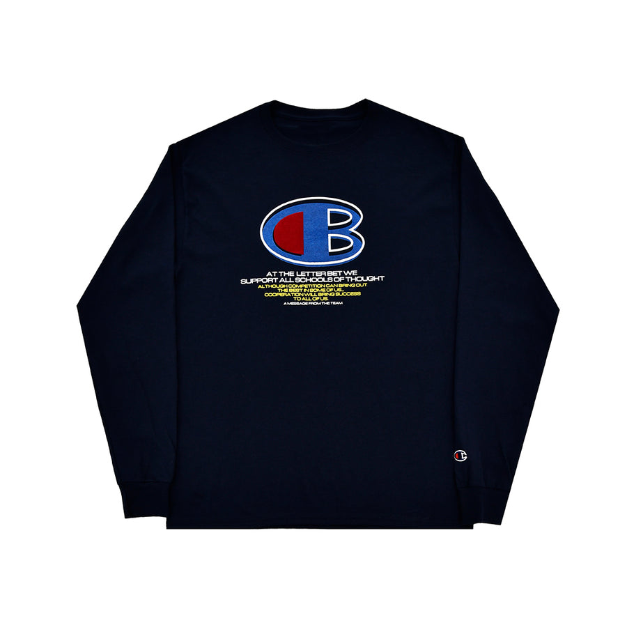 CB LONGSLEEVE - The Letter Bet