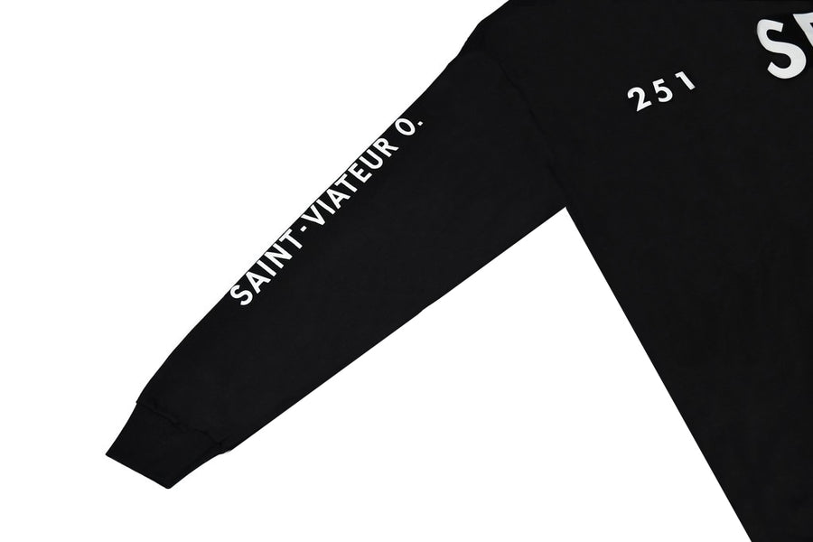 Savoie Fils Black 251 Longsleeve - The Letter Bet