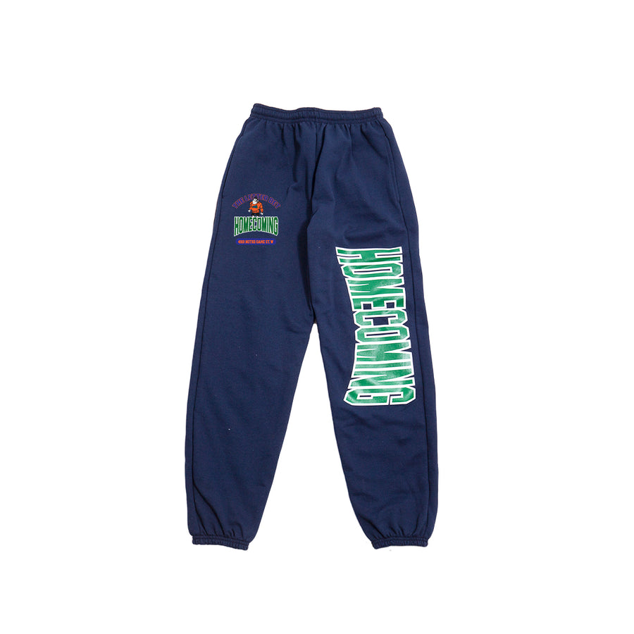 HOMECOMING NAVY SWEATPANTS - The Letter Bet