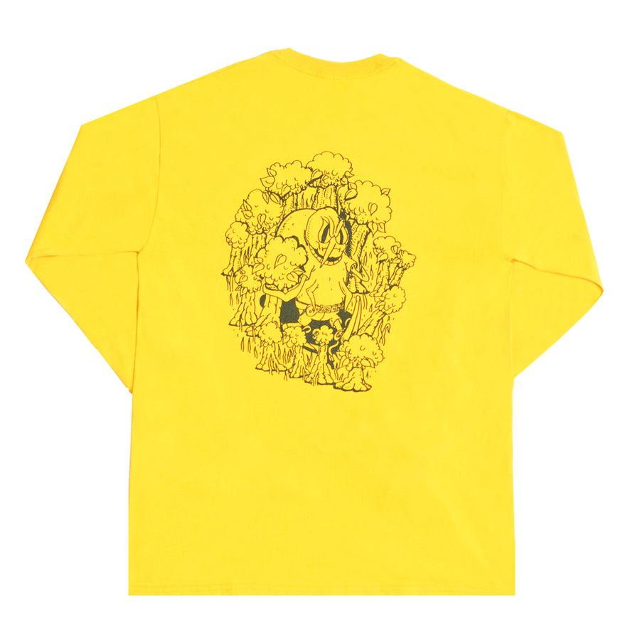 Sweet Lou's Bad Tick Longsleeve Yellow