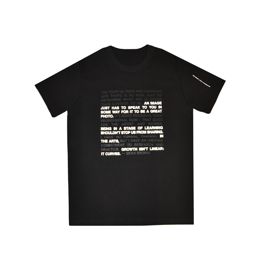 Artist Statement Tee - The Letter Bet