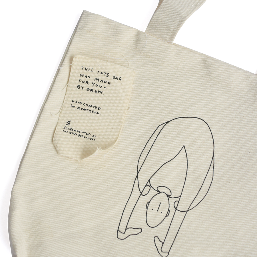 "Ashley Olivieri ""Drew"" Tote #3 - The Letter Bet"
