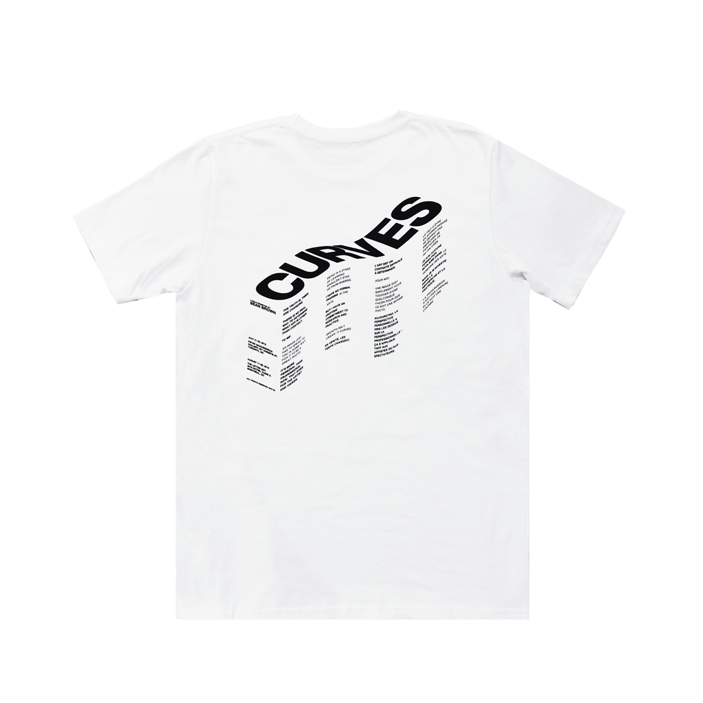 Curves Tee - The Letter Bet