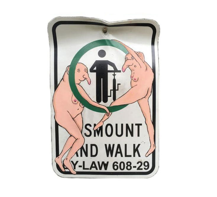 Dismount and Walk