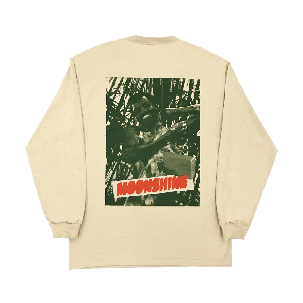 MOONSHINE CITY TO CITY BEIGE LONGSLEEVE - The Letter Bet