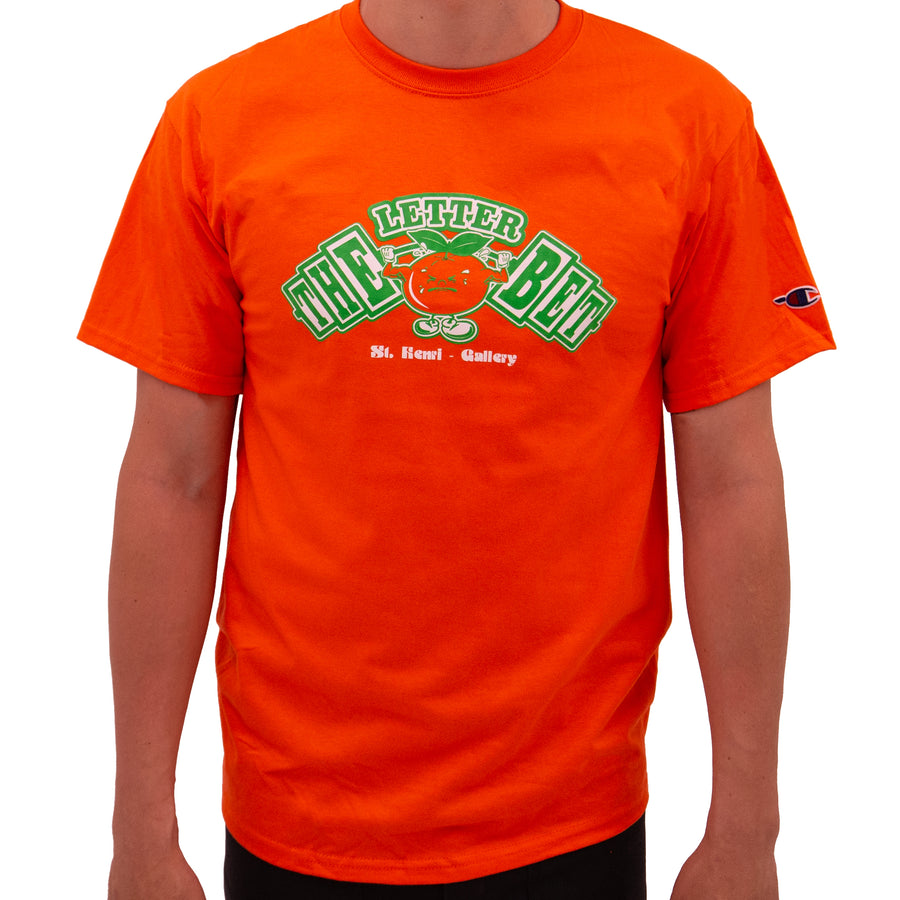 Juicy Pack Orange Tee - The Letter Bet