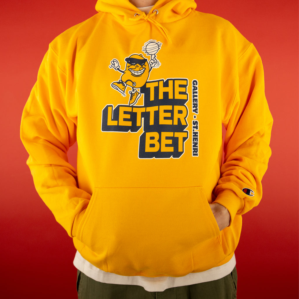 Juicy Pack Mango Hoodie - The Letter Bet