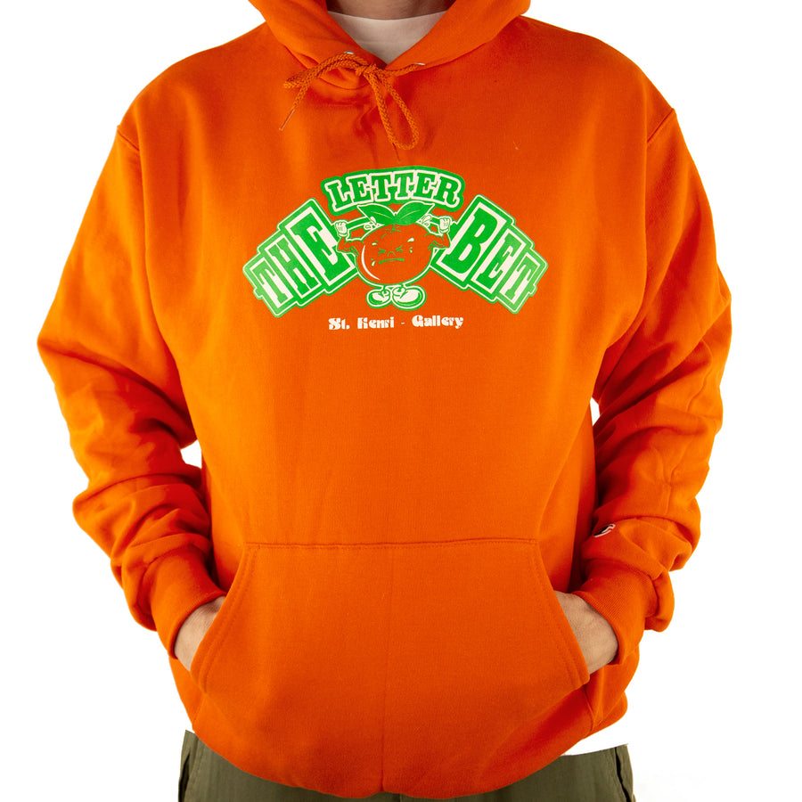Juicy Pack Orange Hoodie - The Letter Bet
