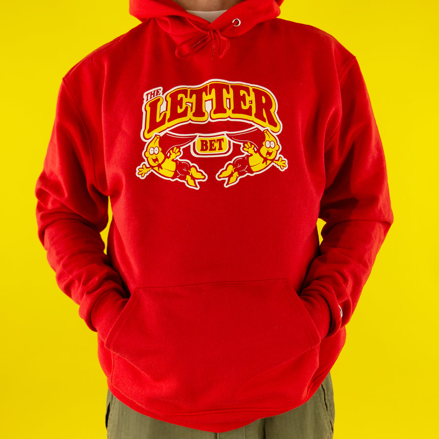 Juicy Pack Banana Hoodie - The Letter Bet