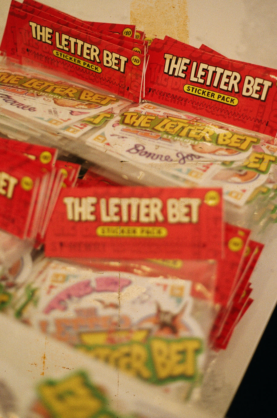The Letter Bet Sticker Pack
