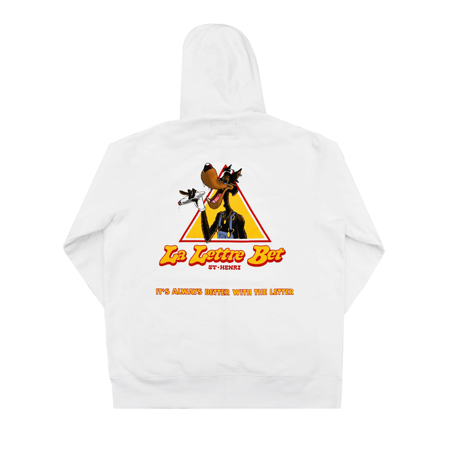 """The Handsome Wolf of St-Henri"" Zip Up Hoodie"