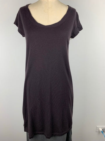 FINE GAUGE CASHMERE DRESS