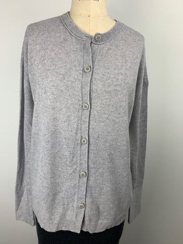 CASHMERE RELAXED CARDI