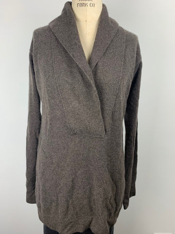 CASHMERE TUNIC W POCKETS