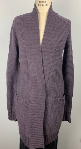 CHUNKY CASHMERE LONG CARDI