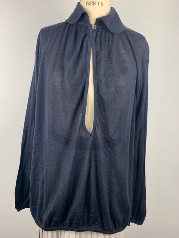 SUPERFINE CASHMERE BLOUSE