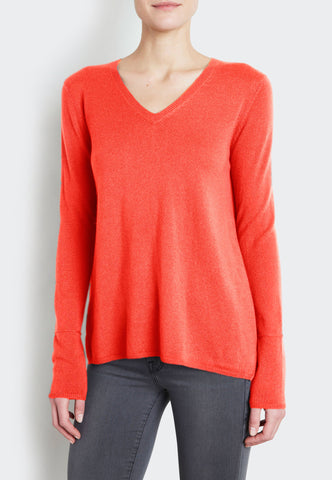 Fly-Away V-Neck Sweater