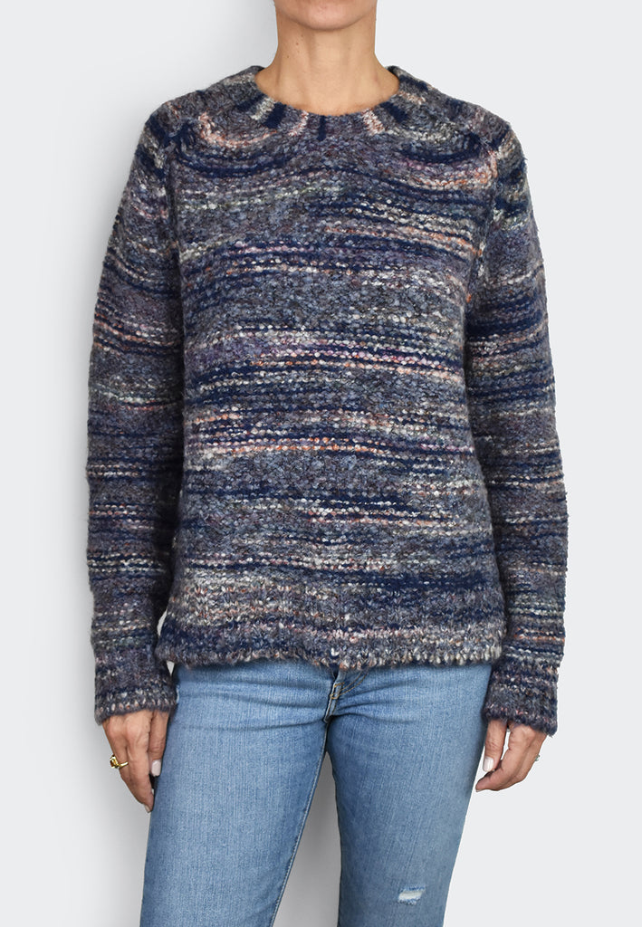 Ombrè Wool Blend Pullover