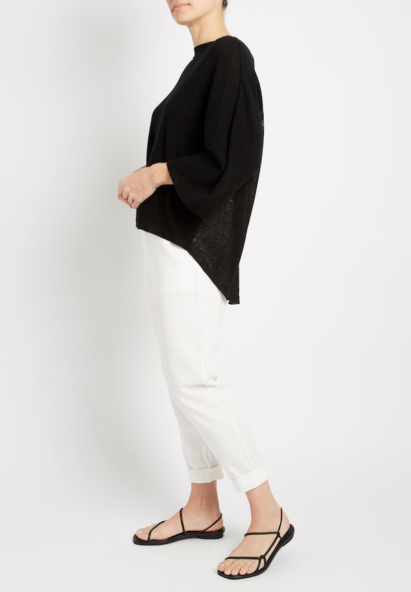 Cashmere Linen Mixed Pull