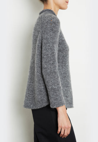 Wool Mix Roll Neck