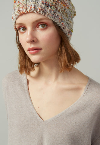 Wool Blend Cable Hat