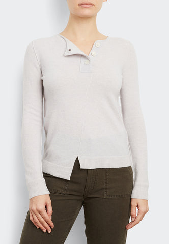 Cashmere Button Stretch