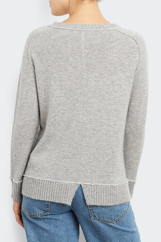 Split Trim Sweatshirt