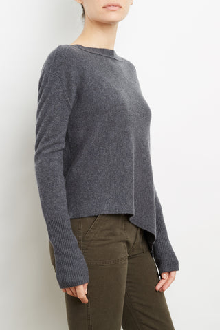 100% Cashmere Asymmetrical Pull