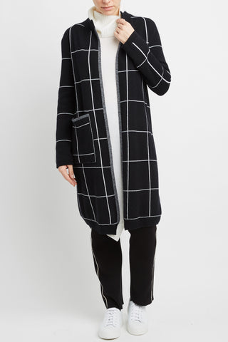 Cashmere Blend Reversible Coat
