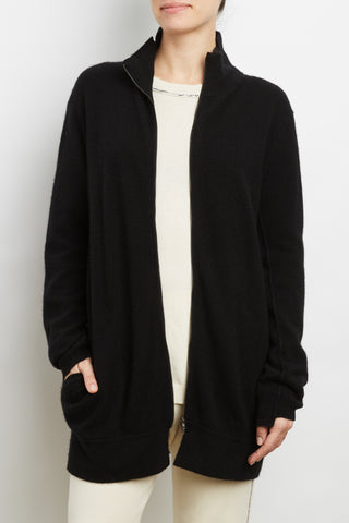 100% Cashmere Zip Jacket