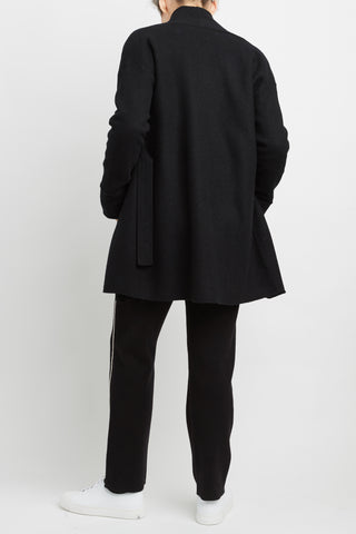 100% Wool Boiled Wool Coat