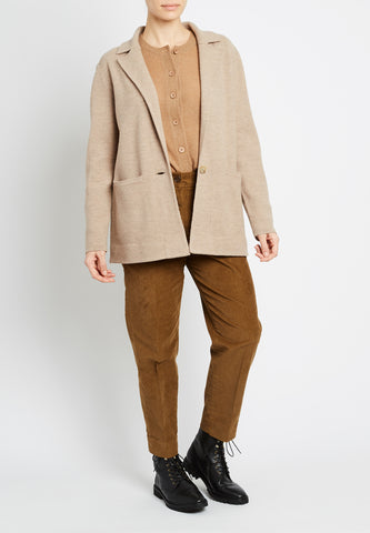 Boiled Wool Merino Blazer