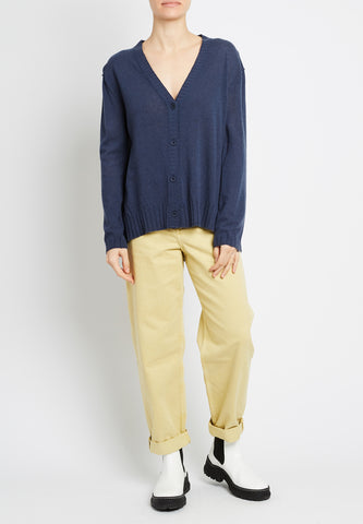 100% Cashmere Relaxed Cardi