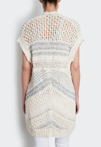 Cotton Crochet Gilet