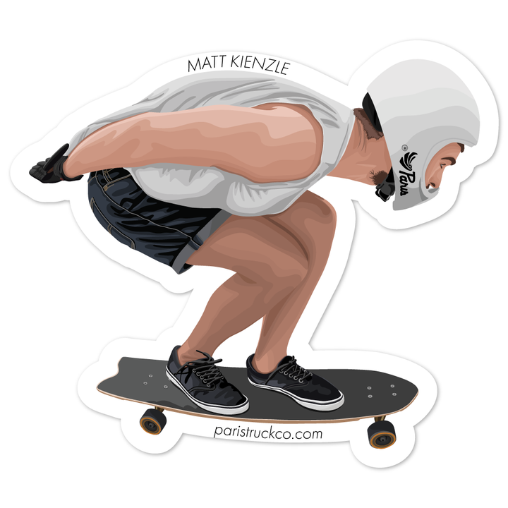 Matt Kienzle - Paris Sticker