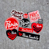The Big 10 - Paris Assorted Stickers - 10 Pack