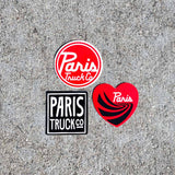 The Mini's- Paris Assorted Stickers - 3 Pack - Paris Truck Co