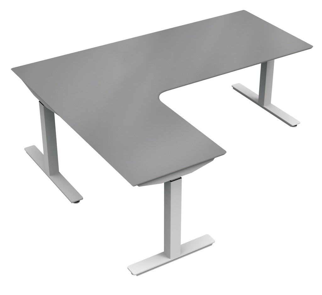 Upcentric 3 Leg Frame Right Tabletop 48 X 72 X 24 X 30 Apex