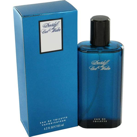 Cool Water Cologne by Davidoff  4.2 oz Eau De Toilette Spray for Men